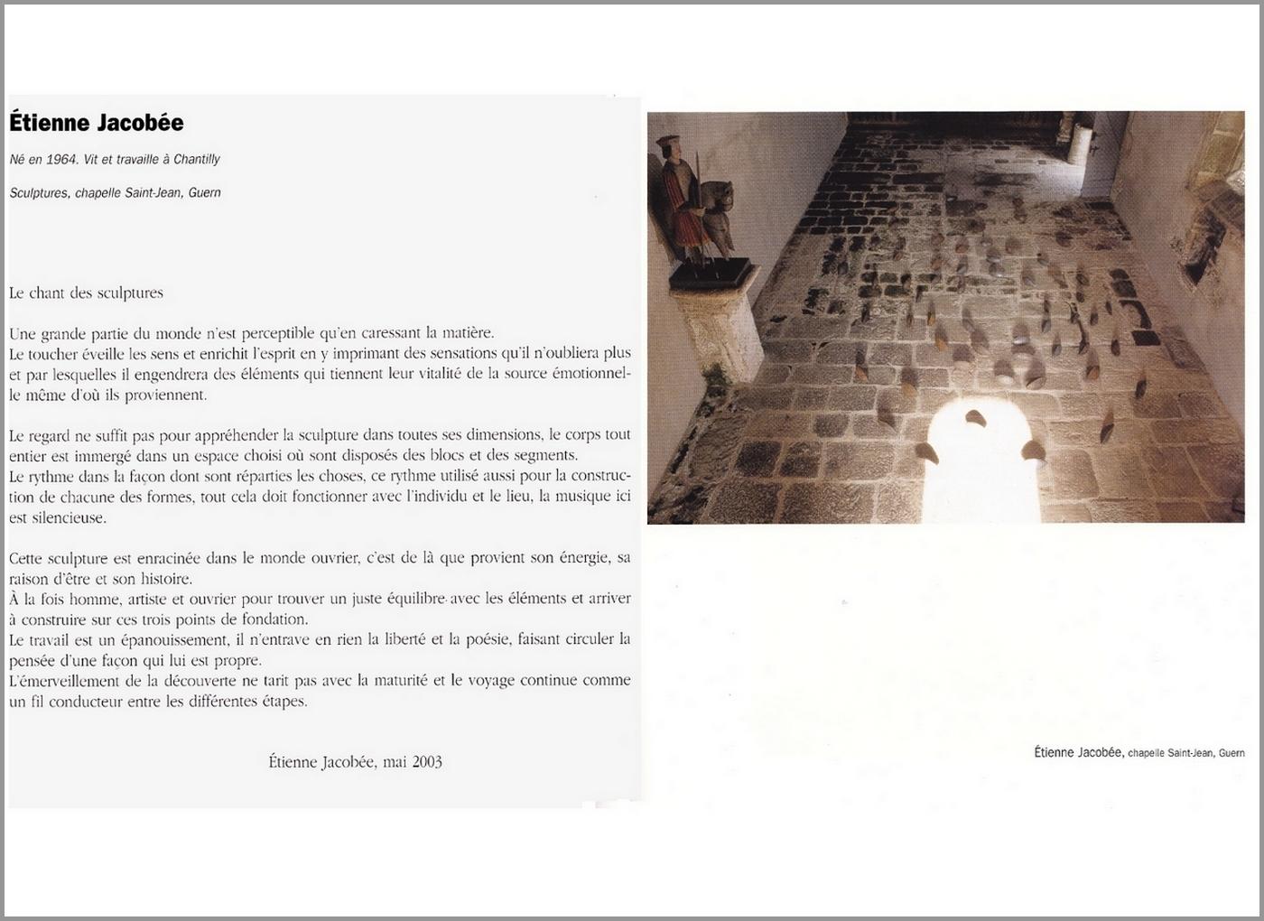 MONTAGE catalogue Artchapelle TAILLE 1280x1024px 72dpi texte et image page2 - Copie